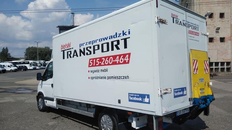 transport bielsko przeprowadzki